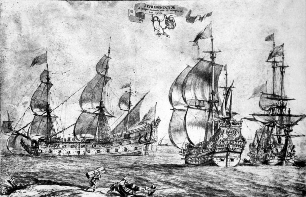French warship of Louis XIV